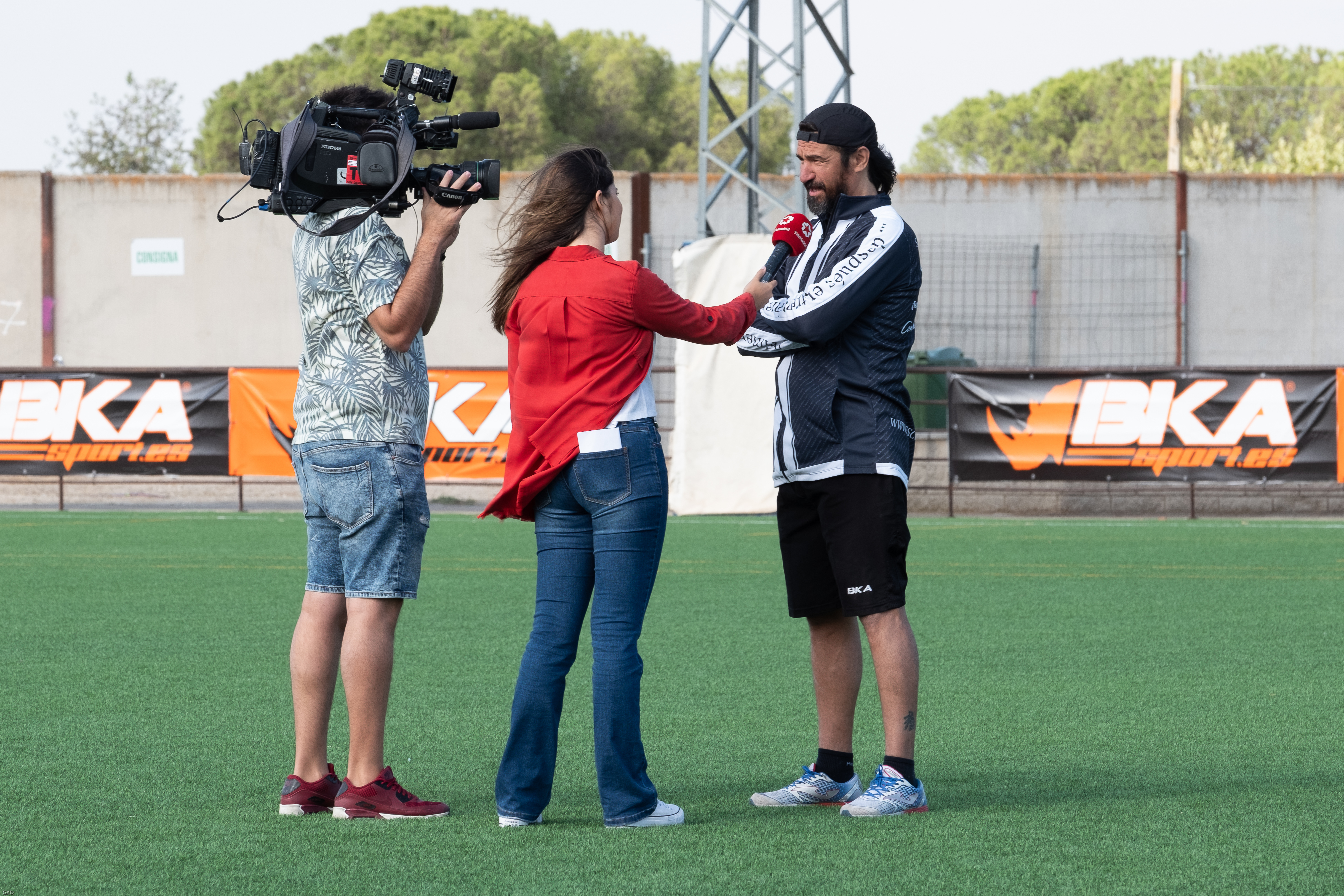 Entrevista de Telemadrid a Sergio Pachon